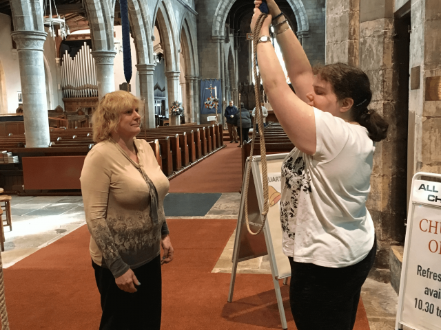 Rope-sense not rope-sight : Rebecca Legowski