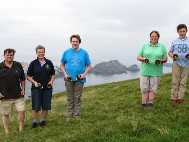 Two ringing centres and a passion for hand bells : Helen McGregor