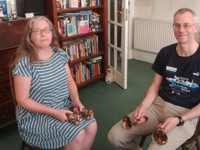 Chatting with the authors of 'Change ringing on handbells'